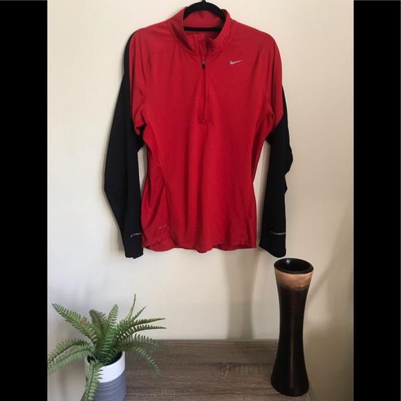 Nike Tops - ❤️2/$20❤️ SALE Nike Air Dry Fit Half Zipper